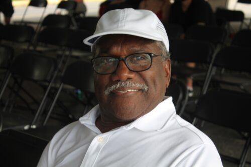 man smiling headshot