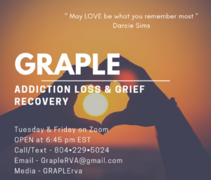 GRAPLE Grief Support Group @ Virtual Online