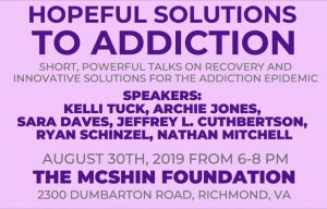 CARE Talks: Hopeful Solutions to Addiction @ The McShin Foundation