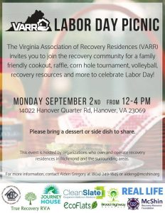 VARR Labor Day Picnic