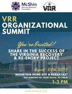 VRR Organizational Summit @ Mountain Home Bed & Breakfast