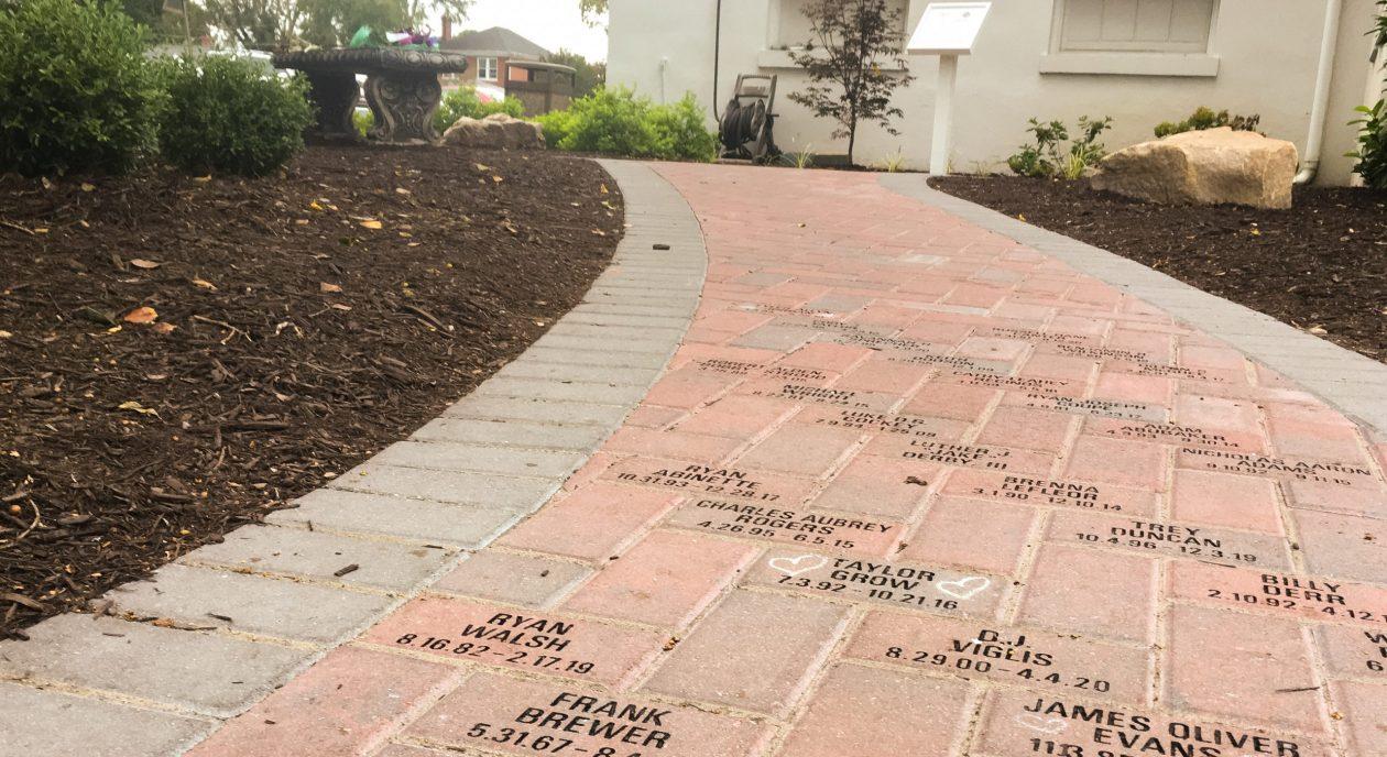 Memorial Garden bricks