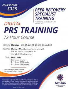 Peer Recovery Specialist Training